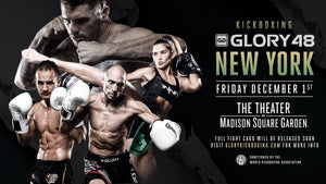 GLORY 48 New York: Matchkort