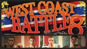 Se matcherna från West Coast Battle 8