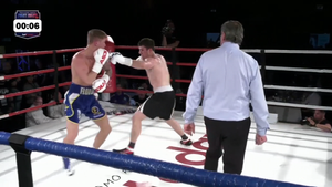 [VIDEO] Oliver Flodin vs Nodar Tskhovrebadze på Bulldog Media Fight Night 2.0
