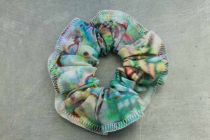 Mother of Pearl Scrunchies