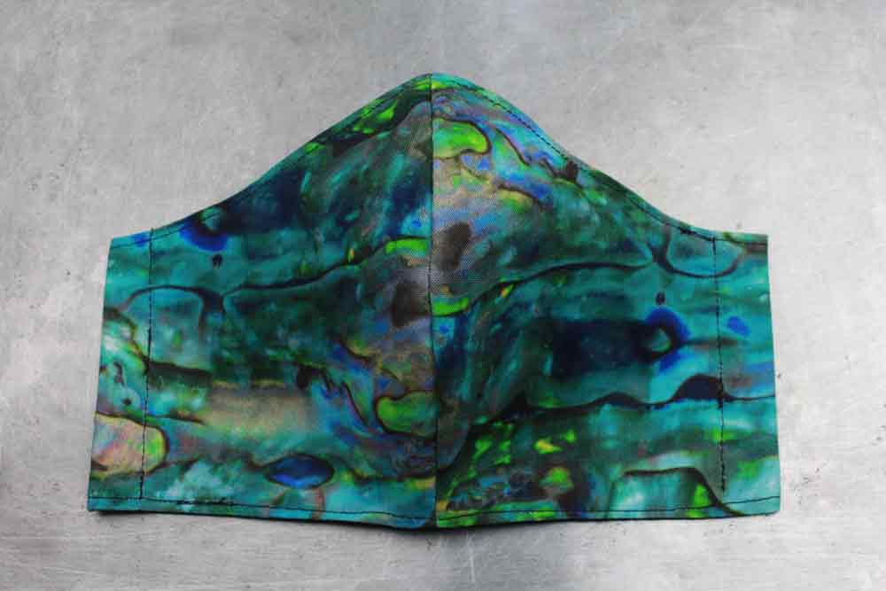 Abalone Cotton Face Mask By Heartbeat Clothing