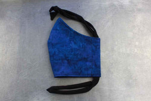 Mystic Blue Face Mask By Heartbeat Clothing