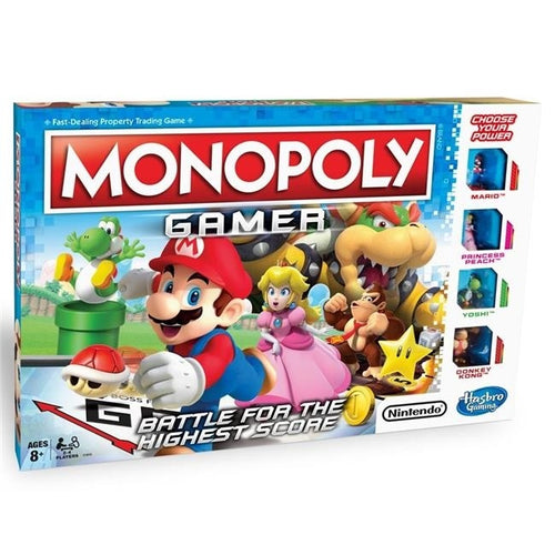 Hasbro  Monopoly Gamer Board Game