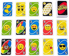 Load image into Gallery viewer, Uno Emoji Card Game
