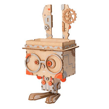 Load image into Gallery viewer, Robotime 3D Wooden Robot Puzzle