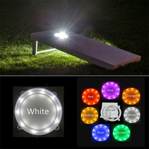 7 Color LED Cornhole Board  (set of 2)