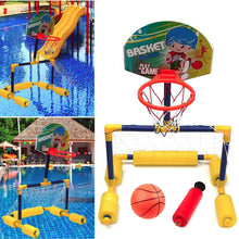 Load image into Gallery viewer, Water Sports Kids Swimming Pool Basketball Goal
