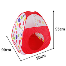 Load image into Gallery viewer, Large Foldable Pool-Tube-Teepee Play Tent