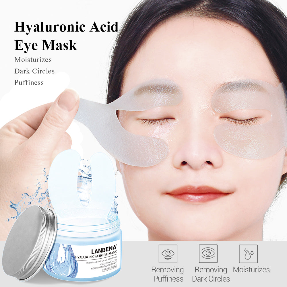 Hyaluronic Acid Eye Mask 90 g / 50 pcs