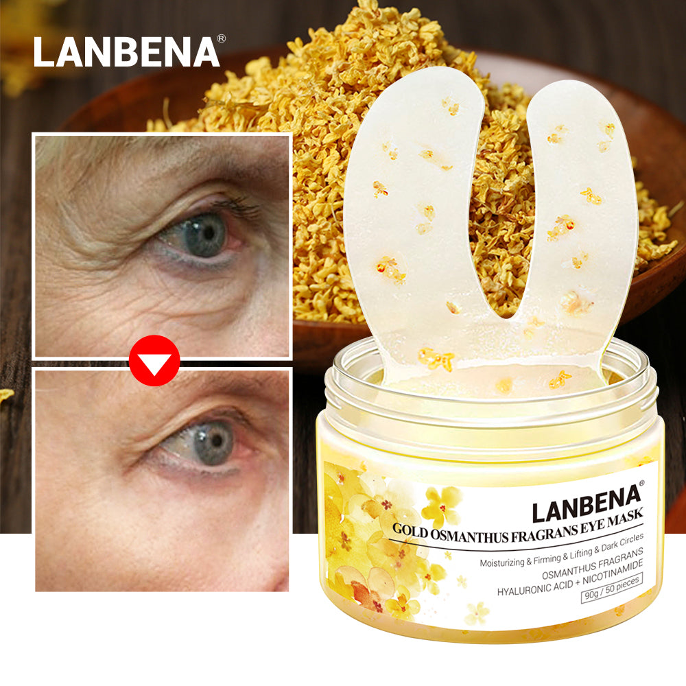 Gold Osmanthus Fragrans Eye Mask 50 pcs