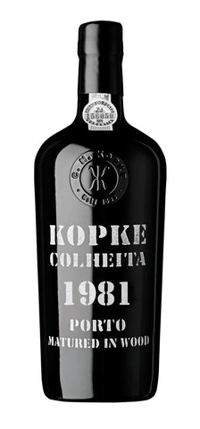 Kopke Colheita Port 1981 (with gift box)