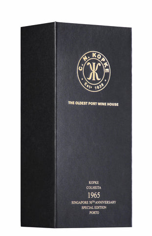 Kopke Colheita Port 1965, Cask 11640, Singapore 50th Anniversary