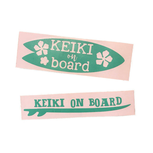 Keiki On Board Decal