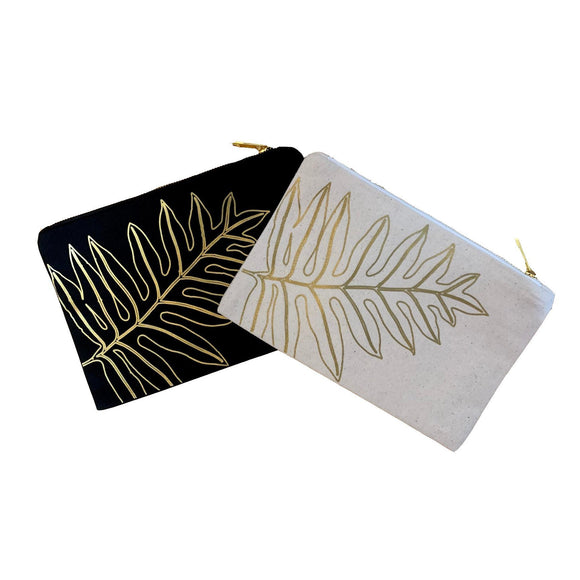 Laua'e Zipper Clutch
