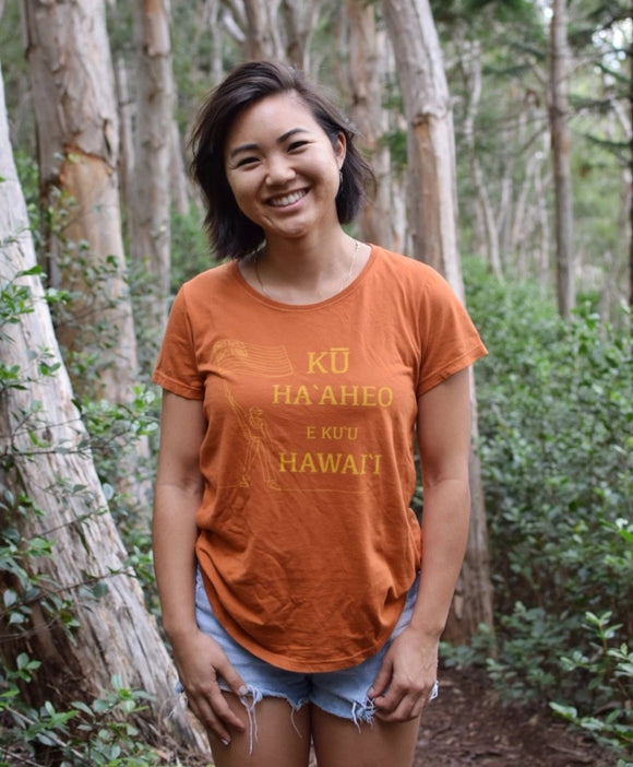 Ku Ha'aheo Womens Tee