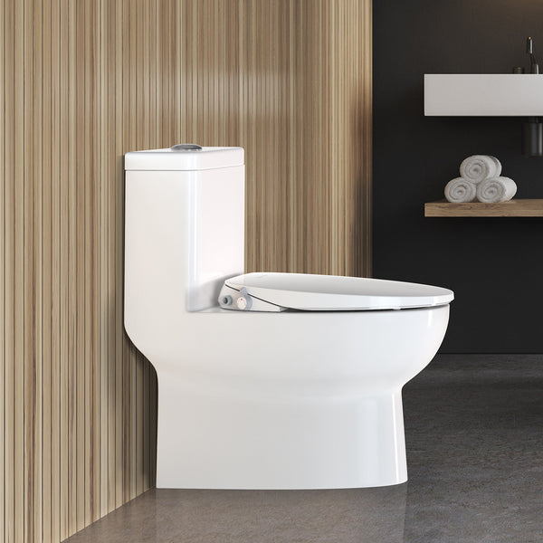 SANIWISE Bidet Toilet Seat F10 for Elongated Toilets