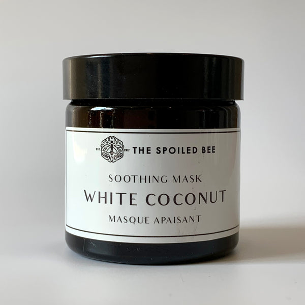 White Coco Face Mask