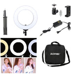 14inch 35cm 3200-5600K Dimmable Photography Studio Ring Light LED Set Up