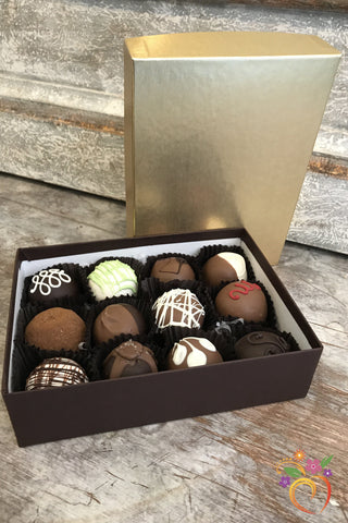 12 Piece Boxed Truffle