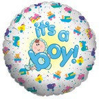 It's a Boy Mylar Balloon