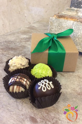 4 Piece Boxed Truffle
