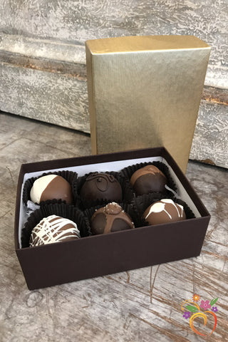 6 Piece Boxed Truffle