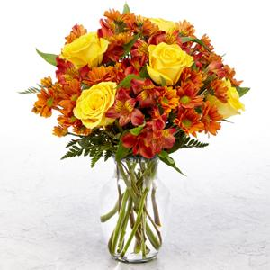 Golden Autumn Bouquet