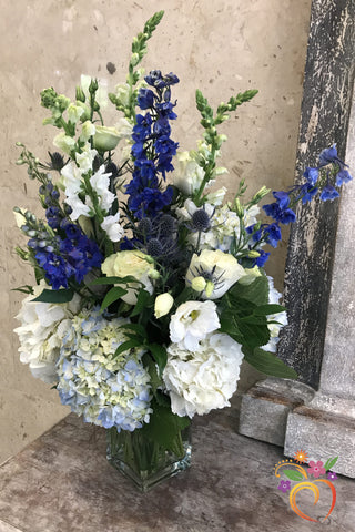 Blue Attitude Bouquet