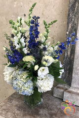 Blue Attitude Bouquet - Local Delivery Only