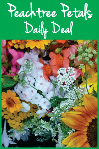 Peachtree Petals Daily Deal Arrangements $50-$160