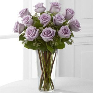 Long Stem Lavender Rose Bouquet