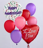 Happy Anniversary Mylar Balloon Bouquet