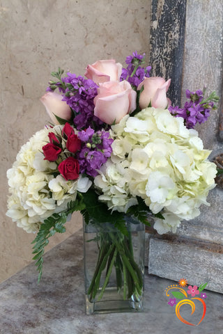 English Garden Bouquet - Local Delivery Only