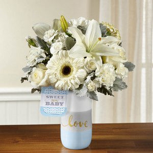 Sweet Baby Boy Bouquet