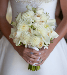 Plush Wedding Bouquet
