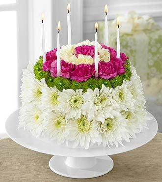 Wonderful Wishes™ Floral Cake