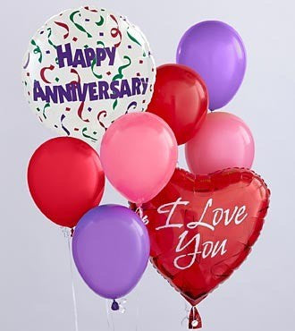 Anniversary Balloon Bunch