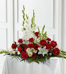 Crimson and White Arrangement