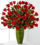 Fascinating Luxury Rose Bouquet - 40 Stems of 24-inch Premium Long-Stemmed Roses
