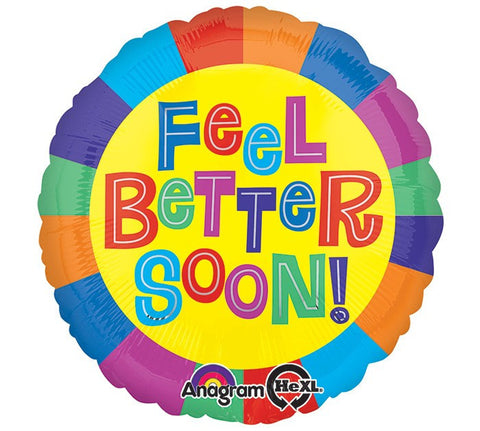 Feel Better Mylar Balloon