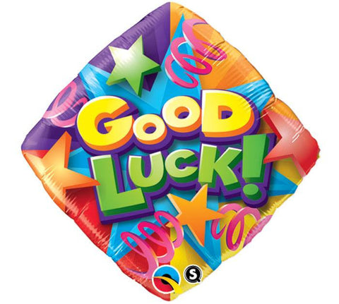 Good Luck Mylar Balloon