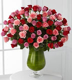 Heartfelt Luxury Rose Bouquet - 72 Stems of 24-inch Premium Long-Stemmed Roses