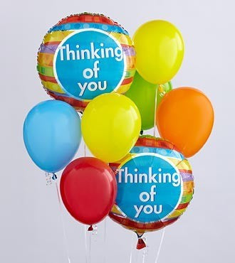 Thinking of You Balloon Bunch