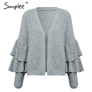 | Ruffle Sweater |