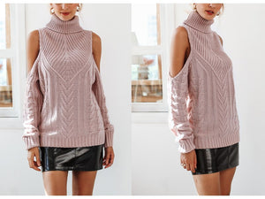 | Sexy cold shoulder Sweater |