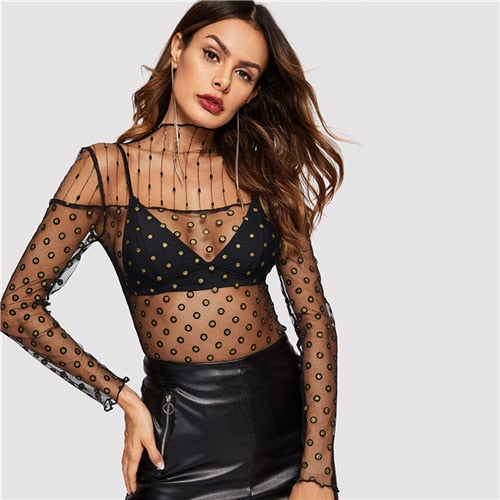 | Fashion Mesh Top |