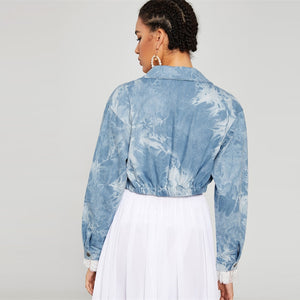 | Streetwear Denim Jacket |