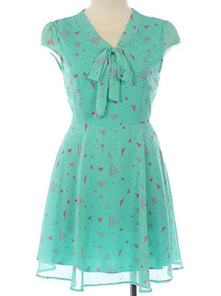 Candy Mint Dress, by Pink Owl