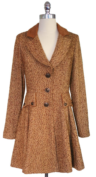 Miranda Coat in Tan by Nick & Mo