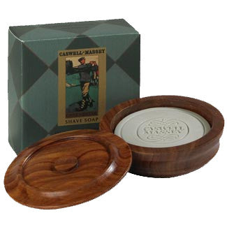 Greenbriar Shave Soap in a Wooden Bowl by Caswell-Massey